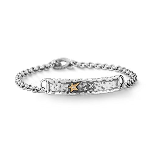 American West Jennifer Nettles Sterling Silver Diamond Chain Bracelet by American West