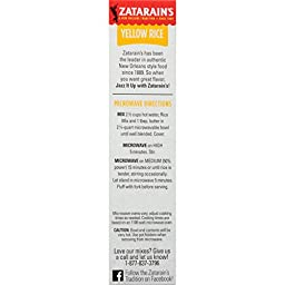 Zatarain\'s Yellow Rice Mix, 6.9 oz