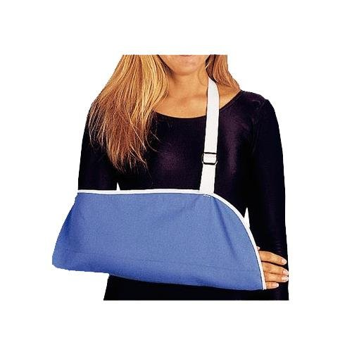 Rolyan Pouch Arm Sling, Large, Adjustable Lightweight Ergonomic Fixed Position Shoulder and Arm Sling for Resting Stabilization, Maximum Comfort for Short-Term and Long-Term Use, Sling for Arm or Cast by Rolyan
