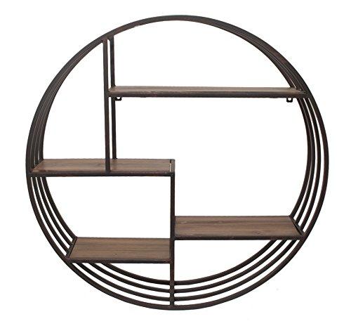 benzara-customary-styled-metal-wall-rack-with-wood-shelves