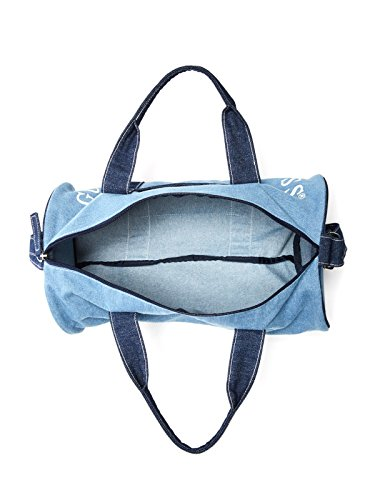 GUESS Factory Women's Denim Logo Duffle Bag
