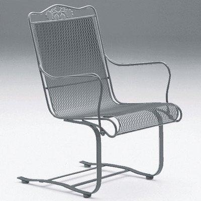 (Briarwood High Back Dining Arm Chair Finish: Textured Black)