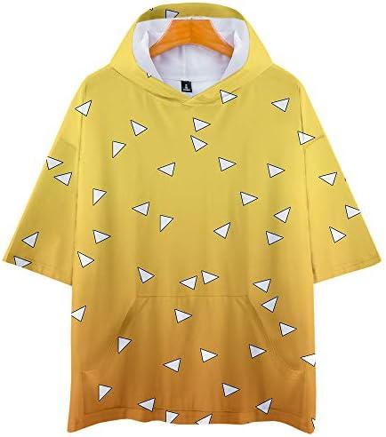 記念シャツ Tシャツ 鬼滅の刃Tシャツ きめつのやいばシャツ メンズファッション uネック 半袖 夏服 ギフト 誕生日プレゼント