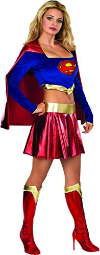 [Women X-Small - Sexy SUPERGIRL COSTUME - Runs VERY VERY SHORT] (Supergirl Costume Size 22)