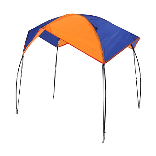 VGEBY Boat Sun Shade Shelter, 2-4 Persons Boat Tent Boat Sun Awning (4 persons)(Suitable for INTEX68351)