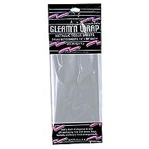 "Club Pack of 36 Silver Gleam 'N Wrap Decorative Metallic Sheets 30"""