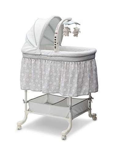 Simmons Kids Deluxe Gliding Bassinet, Seaside [並行輸入品]   B077ZN7M5M