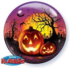 Haunted Halloween Bubble Balloon 22