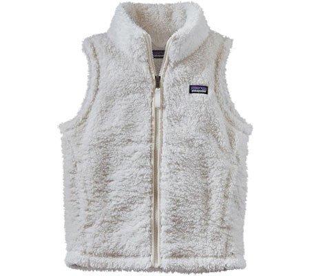 Patagonia Girls White Los Gatos Fleece Vest by Patagonia