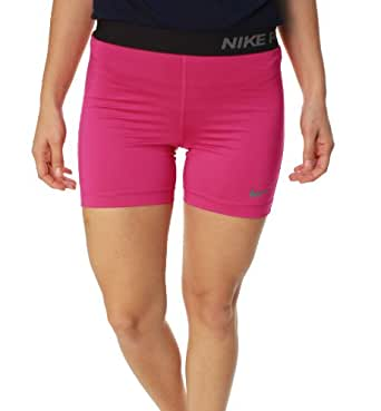 """Nike Womens Pro Core 5""""Compression Shorts #589365-670 (Brry/Blk) (M)"""