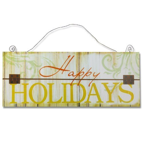 carrotdnrl Decorative Wall Hanging Sign Plaque, Christmas