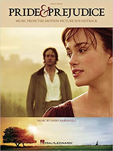 PRIDE AND PREJUDICE MUSIC FROM THE MOTION PICTURE SOUNDTRACK PIANO SOLO