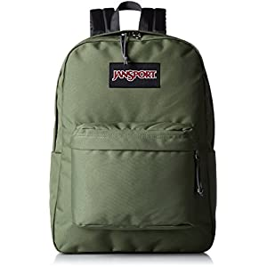 JanSport Unisex Black Label SuperBreak Muted Green Backpack