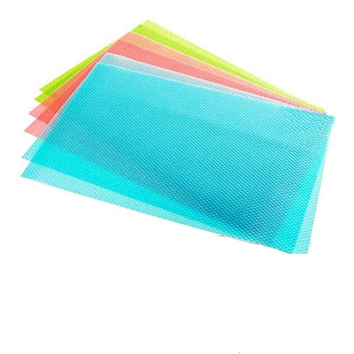 NYKKOLA 4 pcs / lot 29cm45cm Multifunction Refrigerator Pad Mat Fridge Anti-fouling Anti Frost Waterproof Pad