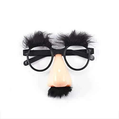CNluca for Hot1pcs Falso Nariz ceja Bigote Payaso Disfraces Disfraces Disfraces Divertido Partido Favor Gafas al por Mayor...