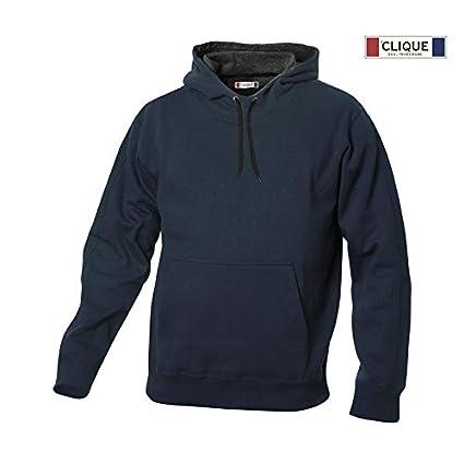 big sale 725e0 a2e5e Felpa Con Cappuccio Clique Carmel - XL, Blu: Amazon.it: Fai ...