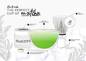 Omgtea Organic Matcha Green Tea Japanese Aaa Grade Matcha Tea Powder 30g Increase Energy Boost Metabolism Improve Mental Focus 100 Organic