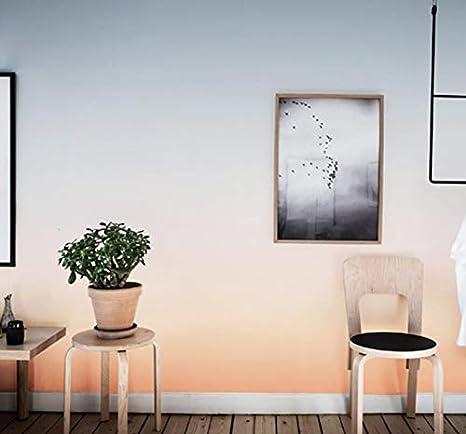 245 350 3D Papier Peint Intiss/é Nordic Simple Ins Couleur D/égrad/é Papier Peint Cavit/é Murale Fille Coeur Chambre Nette Rouge Live Macaron Papier Peint
