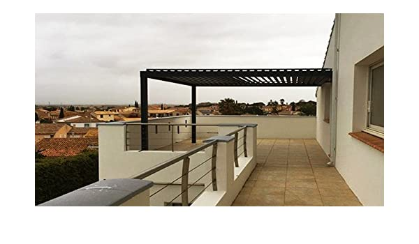NAO Pergola bioclimatique clásico L 3000 mm x a 3000 mm: Amazon.es: Jardín