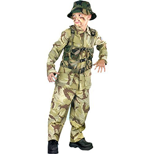 Big Boys' Delta Force Army Costume - S -