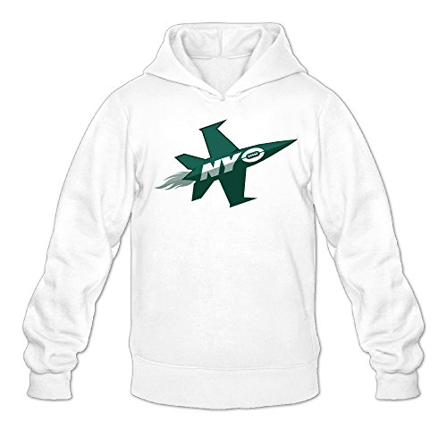 QK New York Plane Jets Men's Soft Long Sleeve Hoodie L (Halloween Parade New York)