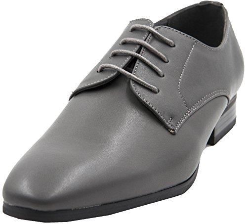 à Gris Homme Cuir Uomo Chaussures Doublure EUqnv6Fx