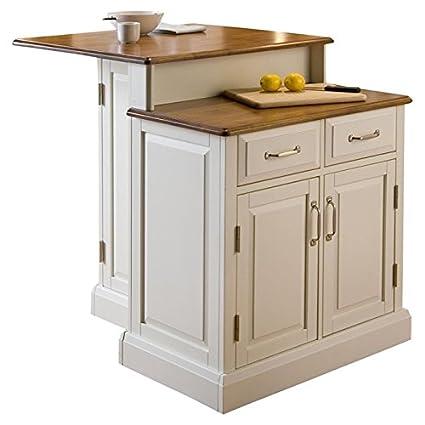 Amazon Com Jaxterrific Elegant 2 Tier Kitchen Island 2 Adjustable