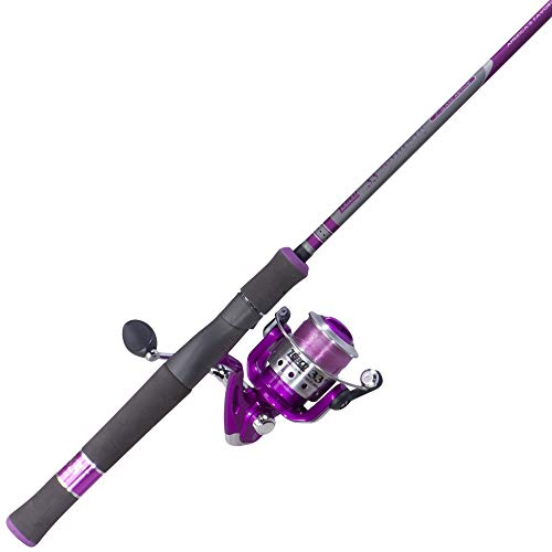 Zebco 30SPL/ZALS602ML Lady Fishing Rod and Reel Combo