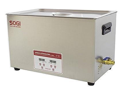 Vasca Da Bagno Con Ultrasuoni : Vasca ad ultrasuoni inox pulitore ultrasuoni riscaldamento 30 l