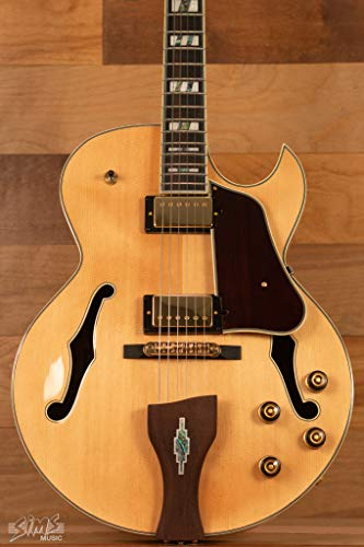 Signature Hollow Body - Ibanez LGB30 George Benson Signature Hollowbody Electric Guitar Natural