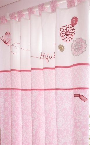 Forever Friends Baby Curtains Beautiful Pink Izziwotnot