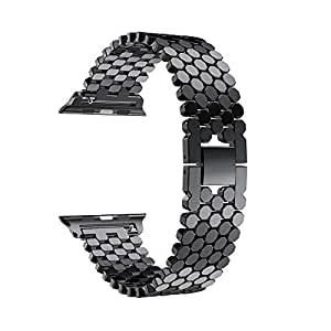 Accessory for Apple Watch Series 4!!!Natarura New Fashion Replacement Stainless Steel Watch Band Loop Strap for Apple Watch Series 4 44mm/40mm!!Halloween Hot Sale!!!