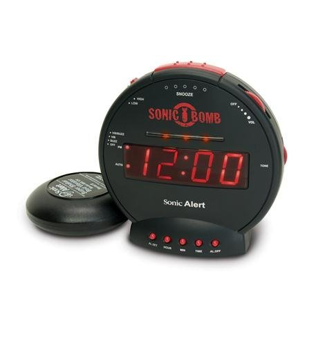 Sonic Bomb Alarm Clock Computers, Electronics, Office Supplies, Computing by Sonic Bomb