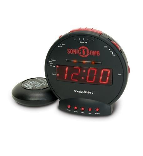 Sonic Bomb Alarm Clock Computers, Electronics, Office Supplies, Computing