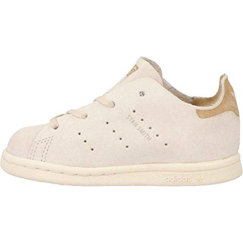 Zapatillas para ni�o, color Beige , marca ADIDAS ORIGINALS, modelo Zapatillas Para Ni�o ADIDAS ORIGINALS STAN SMITH FASHION Beige Beige