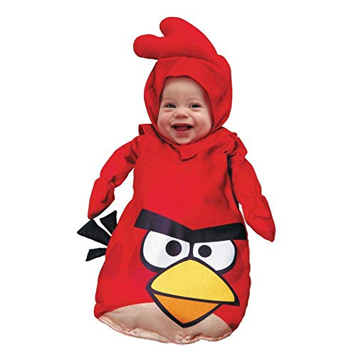 Paper Magic Red Angry Birds Infant Costume]()