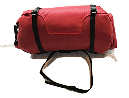 Recorrido Handlebar Bag Double Roll Top Closure Perfect for a Jacket and a Pump