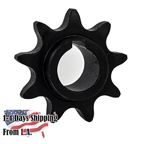 40C09H-5/8'' Bore 9 Tooth Sprocket for 40 Roller Chain by Jeremywell
