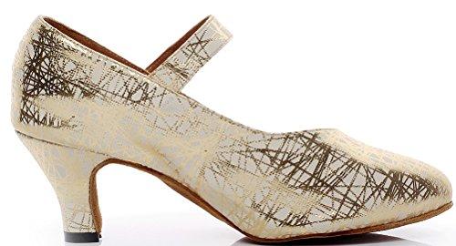 CFP - Zapatillas de danza para mujer Dorado dorado 5LWtf8I3Pn