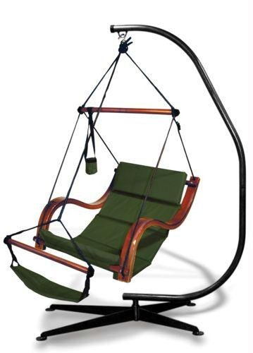 Hammaka Suelo Stand with Nami Chair Combo - Hammock Chair Stand Suelo