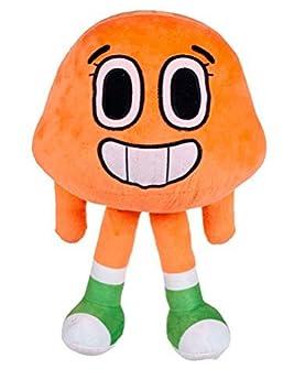 Le monde incoyable de Gumball - Peluche Darwin personnage orange 25cm - Belle Qualité -