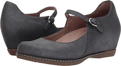 Dansko Women's Loralie Mary Jane Charcoal Metallic Size 41 EU (10.5-11 M US - Us My Store