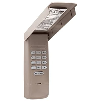 877MAX Liftmaster Keyless Entry Keypad 377LM 977LM Sears Compatible 315mh 390mhz Chamberlain, Craftsman, LiftMaster, Sears