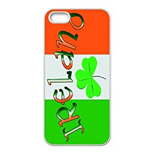 [H-DIY CASE] For Apple Iphone 5 5S -Green Lucky Clover-CASE-9