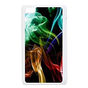 Abstraction Patterns Lines Light iPod Touch 4 Case White WNJ