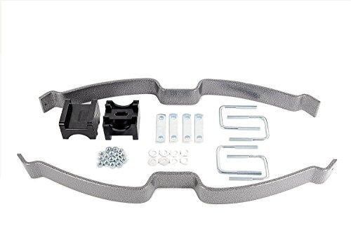 Design Helper Spring Kit Single Leaf Spring Kit Up To 2500 lbs Level Load Capacity Special Design Helper Spring Kit ()