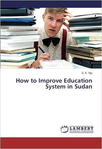 How to Improve Education System in Sudan: G  K  Viju: 9783659144790