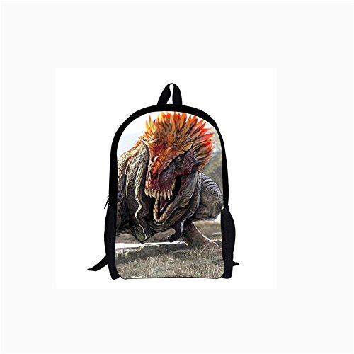 Backpacks Capacity Printing High Backpack Dinosaur School Student Bag 3D c818c RdHqRx