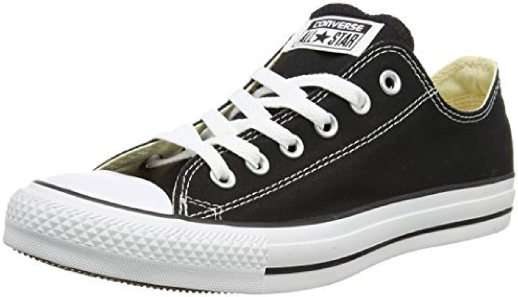 1010ee8036a39 Unisex Chuck Taylor All Star Ox Basketball Shoe (10.5 D(M) US Men, Black)