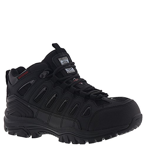 SKECHERS Work Women's Bellshill Steel Toe Black 7.5 B US by Skechers